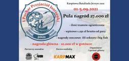 Karpiowa Bataliada Jerzyn 2021 – dwa wolne miejsca