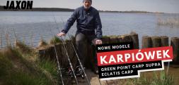 Nowe modele karpiówek Jaxon - Green Point Carp Supra i Eclatis Carp
