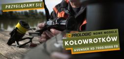 Nowe kołowrotki karpiowe Prologic Avenger XD 7000/8000 FD. Zobacz film