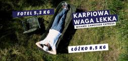 Biwakowa waga lekka – łóżko i fotel Mivardi CamoCode Express