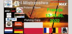 To będą pierwsze Mistrzostwa Poland Team Carp Fishing