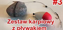 Jak łowić karpie w trudnych miejscach ? Zestaw karpiowy z pływakiem #3 Poradnik Carp Fun TV