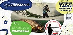 RYBOMANIA WARSZAWA 2018 - WĘDKARSTWO POLSKA (RELACJA)