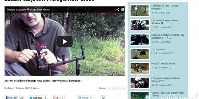 Carp'R'Us, Dragon, Infinity Fishing, Prologic - nowości na portalu i karpmax.tv