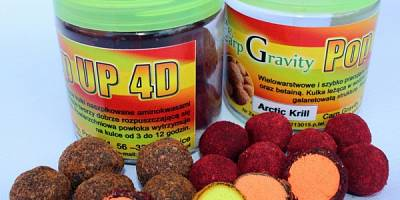 4D FLUO POP UP CARP GRAVITY