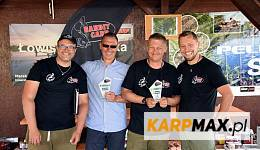 Team Karp Maxa na podium
