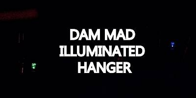 MAD ILLUMINATED HANGER