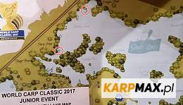 World Carp Classic Junior 2017 - mapa stanowisk