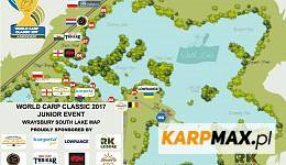 World Carp Classic Junior 2017 - mapa stanowisk - dobra