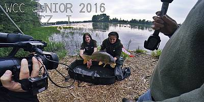 WORLD CARP CLASSIC JUNIOR - I CZĘŚĆ FILMU