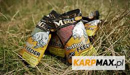 Drobny pellet i mieszanka zanętowa do method feedera od Dragon Mega Baits