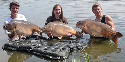 Dwa rekordy na treningu przed World Carp Classic Junior 2017