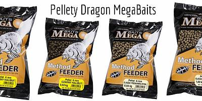 Pellet Dragon MegaBAITS Method Feeder