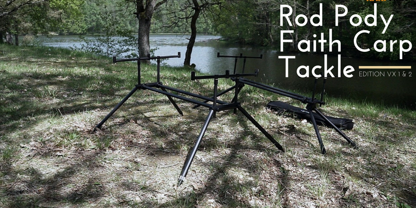 Film. Rod Pody Faith Carp Tackle Edition Vx1, Vx2