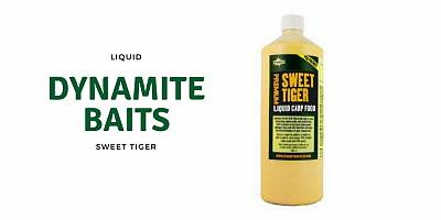 Dynamite Baits Sweet Tiger Liquid Carp Food