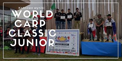 Włosi wygrali World Carp Classic Junior 2018