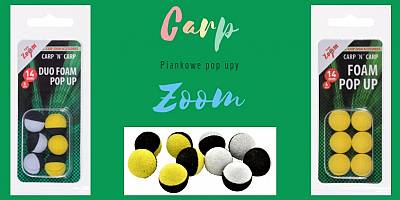 Carp Zoom Foam pop-up