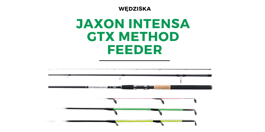 Wędziska Jaxon Intensa GTX Method Feeder
