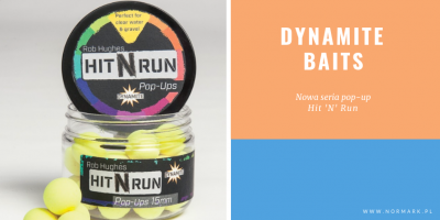 Dynamite baits pop-up Hit'N'Run – nowa seria